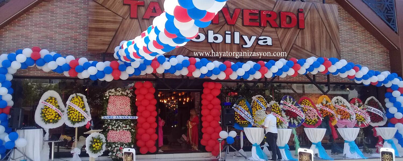 Açılış Organizasyonu Balon Süsleme Hizmeti