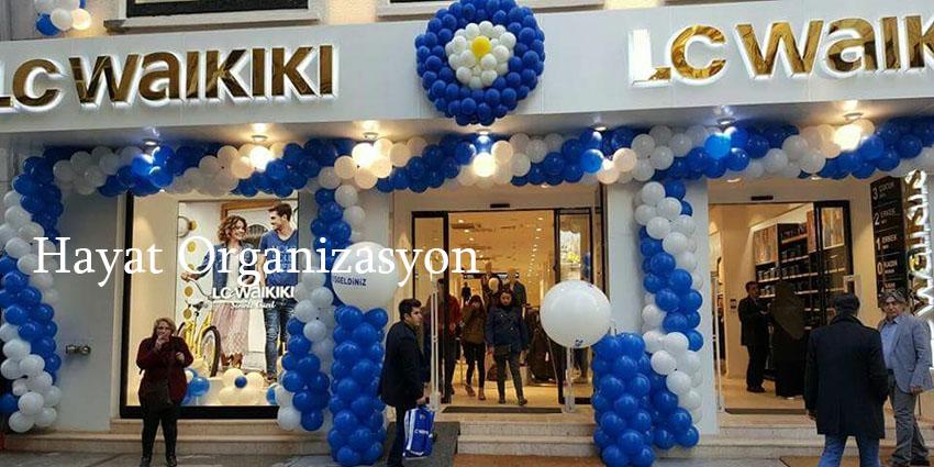 mağaza açılış organizayonları