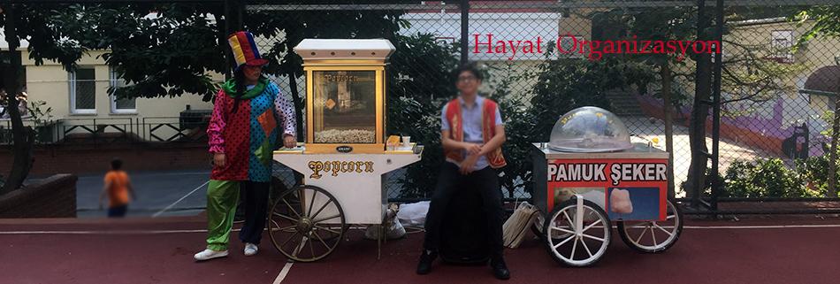 kiralık pamuk şekerci arabası