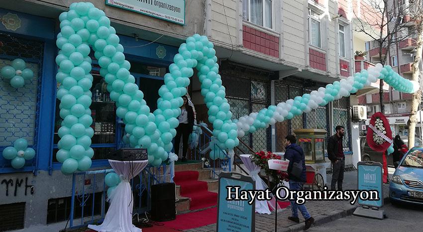 balon süsleme organizasyonu açılış org