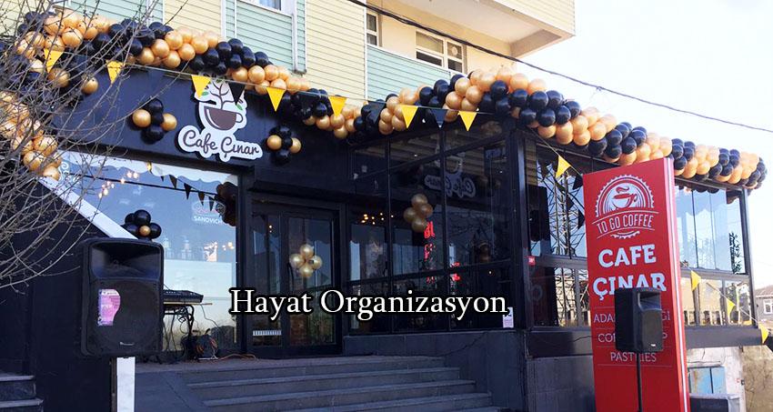 açılış programı cafe açılışı