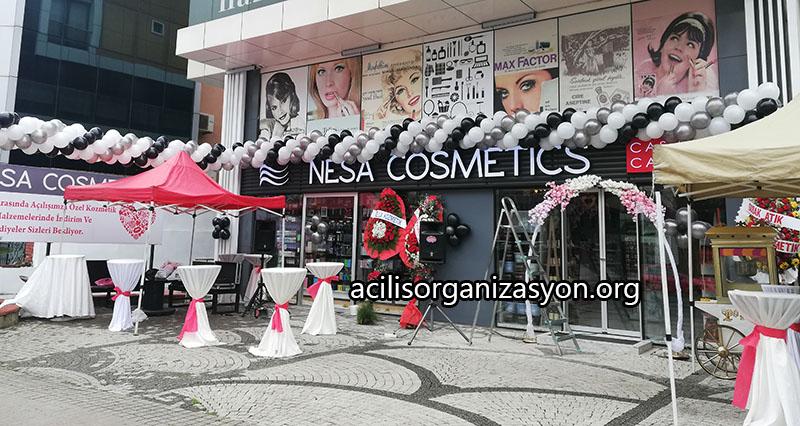 kozmetik dükkan açılış organizasyonu