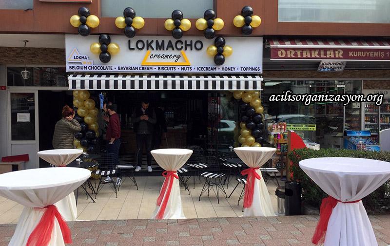 lokma dükkanı açılış organizasyonu
