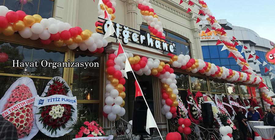 zincir balon süsleme istanbul