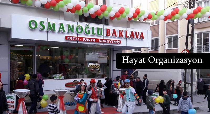 baklava dükkan açılış programı