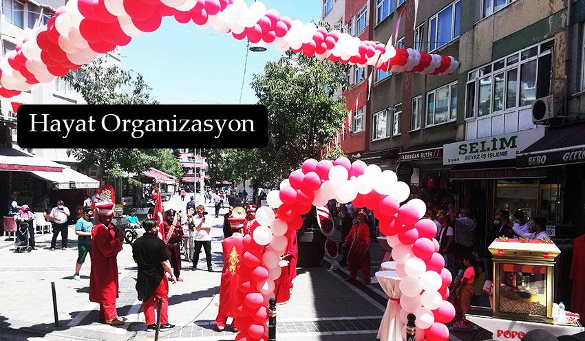 açılış organizasyonu mehter takımı balon süsleme