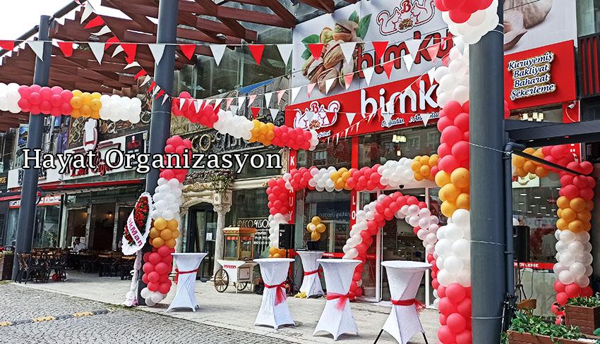 Açılış Organizasyon Balon Süslemeleri